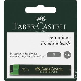 Faber Castell Fineline Leads Feinminen Super Polymer Härte B 1.4mm