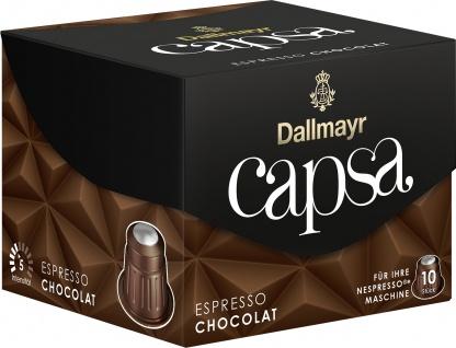 Dallmayr 10 Capsa Espresso Chocolat fein cremig 56g 5er Pack