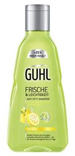 Guhl Frische und Leichtigkeit Shampoo Anti-Fett Shampoo 250ml 4er Pack