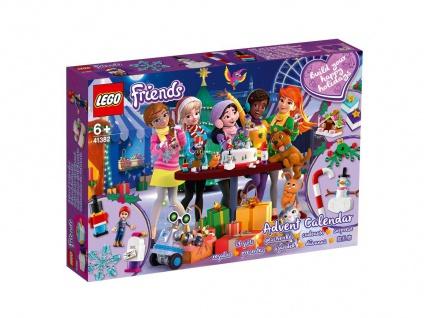 Lego 41382 Adventskalender Friends für die Weihnachszeit ab 6 Jahren