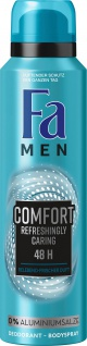 Fa Deospray Men Comfort Refreshingly Caring Duft 150 ml 6er Pack