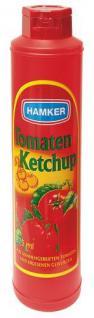 Hamker Tomaten- Ketchup, 12er Pack (12 x 875 ml Flasche)
