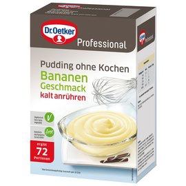 Dr. Oetker Professional Pudding ohne Kochen Bananen-Geschmack, 1000 g
