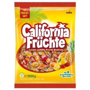Storck California Früchte Lecker gefüllte Frucht-Bonbons 1000g
