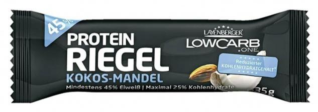 Layenberger Low Carb Riegel Kokos und Mandel mit Protein 35g