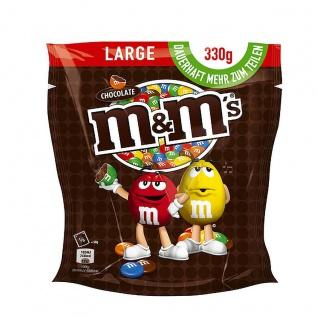 M und M Choco Dragierte Schokolinsen mit knackiger Zuckerhülle 330g
