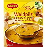 Waldpilz Cremesuppe Maggi Guten Appetit mit Butterpilzen und Steinpilzen 50g