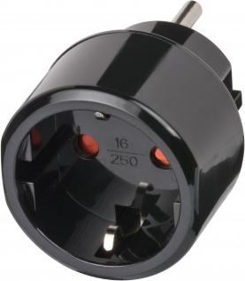 Brennenstuhl Reisestecker Reiseadapter für elektrische Geräte