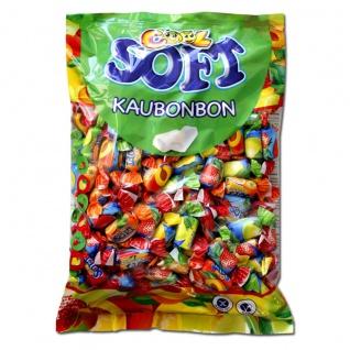 Cool Soft Kaubonbon Fruchtgeschmack 6fach sortiert Wurfmaterial 1000g