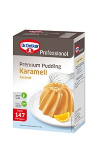 Dr. Oetker Pudding echter Karamel-Geschmack, 1er Pack (1 x 1000 g)
