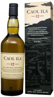 Caol Ila 12 Jahre 43% Vol. Single Malt Whisky trocken süß 700ml