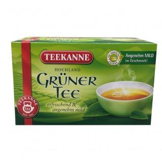 Teekanne Grüner Tee erfrischend und angenehm mild 20 Teebeutel