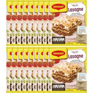 Maggi Fix für Lasagne würzig tomatig mit oregano gewürzt 43g 18er Pack