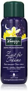 Kneipp Aroma-Pflegeschaumbad Zeit für Träume Lavendel Vanille und Abendblume, 400 ml