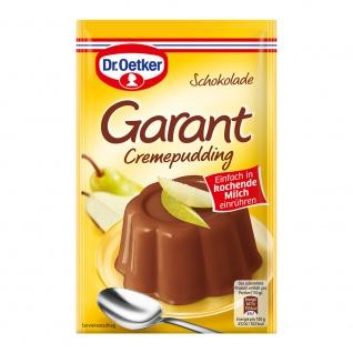 Oetker Garant Cremepudding Schokolade Ein cremiger Genuss 100g