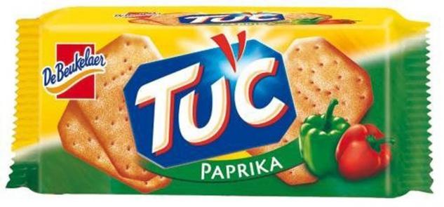 Tuc Cracker mit würzigem Paprika Geschmack ein Knabber Spaß 100g