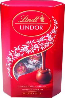 Lindor Cornet Milch zartschmelzende Vollmilchschokolade 200g