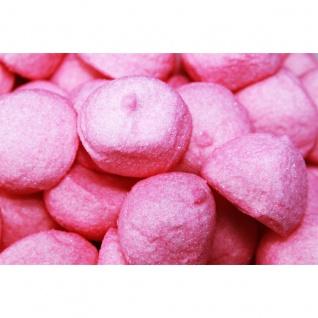 Mellow Speckbälle pink große gezuckerte Schaumzuckerbälle 125g