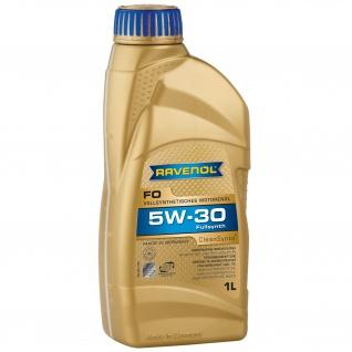 Ravenol FO SAE 5W 30 Synthetisches Leichtlauf Motorenöl PKW 1L