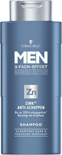 Schwarzkopf MEN Shampoo Zink Anti-Schuppen 4er Pack 4 x 250 ml - Vorschau