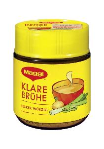 Maggi Klare Brühe das Original lecker würzig Instant für 7 Liter 102g