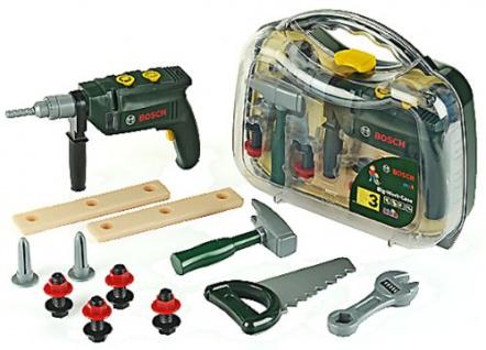 Bosch Werkzeugkoffer 16 teiliges Spielzeugset für echte Handwerker