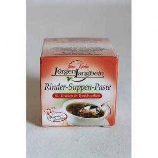 Jürgen Langbein Rinder-Suppen-Paste, 50 g, 10er Pack