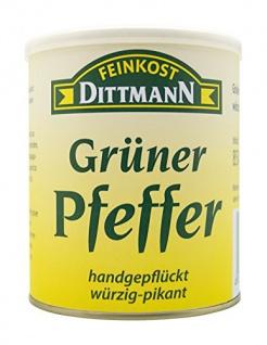 Feinkost Dittmann Grüner Pfeffer, handgepflückt, würzig-pikant