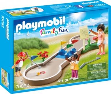 Playmobil Family Fun Minigolf Konstruktionsspiel Spielset 70092