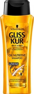 Gliss Kur Shampoo Oil Nutritive 250 ml 6er Pack