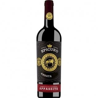 Epicuro Appassite Rosso Passito reife Beerenaromen 9000ml 12er Pack