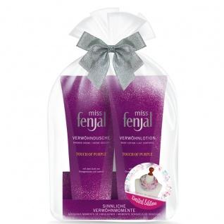 Miss Fenjal Geschenkset Touch of Purple Duschgel und Bodylotion