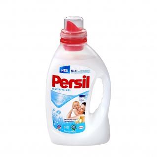 Persil Sensitive Gel, 20 Waschladungen