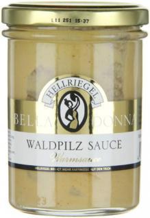Hellriegel Bella Donna Waldpilz Sauce, 12er Pack (12 x 180 g)