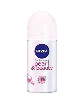 Nivea Deo Pearl und Beauty Deoroller, Antitranspirant, 6er Pack (6 x 50 ml)