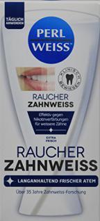Perlweiss Zahnweiss Raucher, 50 ml, 6er Pack (6 x 50 ml)