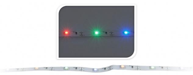 LED Leiste 1 Meter 30 LED bunt