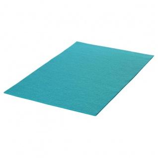 Filz Textil türkis zum Basteln und Dekorieren geeignet 20x30cm