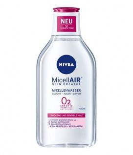Nivea Pflegendes Mizellenwasser 3in1 für trockene Haut 400ml 3er Pack