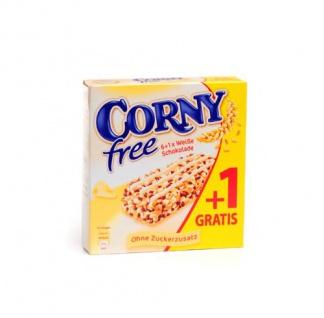 Corny free weiße Schokolade ohne Zucker 140g