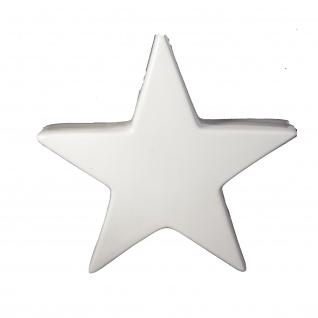 Keramik Stern 30 cm weiss