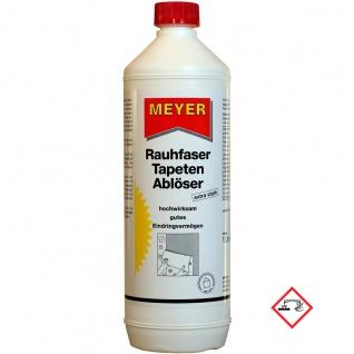 Meyer Raufaser Tapetenabloeser Ablöser Entferner extra stark 1000ml