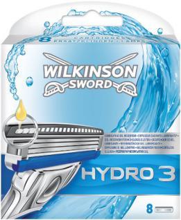 Wilkinson Sword Hydro 3 Klingen, 8 Stück - Vorschau