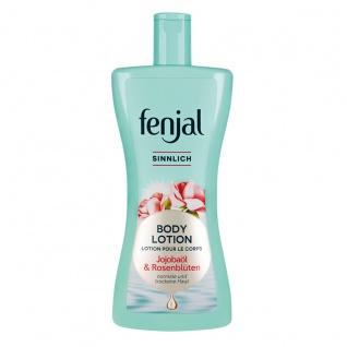 Fenjal Body Lotion Sinnlich mit Jojobaöl und Rosenblüten 400ml