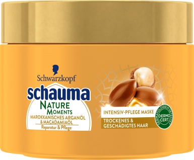 Schauma Intensiv Pflege Maske Nature Moments Trockenes Haar 250ml