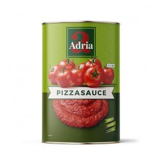 Pizza Sauce mit Salz Adria Tomatenmasse mit kleinen Anteilen 4200g