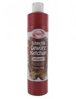 Hela Schaschlik Gewürz Ketchup (800ml Tube)
