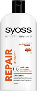 Syoss Spülung Repair Therapy, 2er Pack (2 x 500 ml)