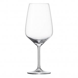 Bordeauxglas von Schott Zwiesel Serie TASTE mit Füllstrich 6er Set