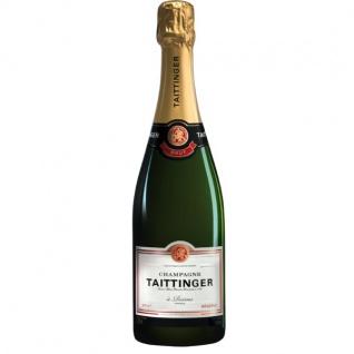 Champagne Taittinger Brut Reserve GP Geschenkpackung aus Frankreich 750ml